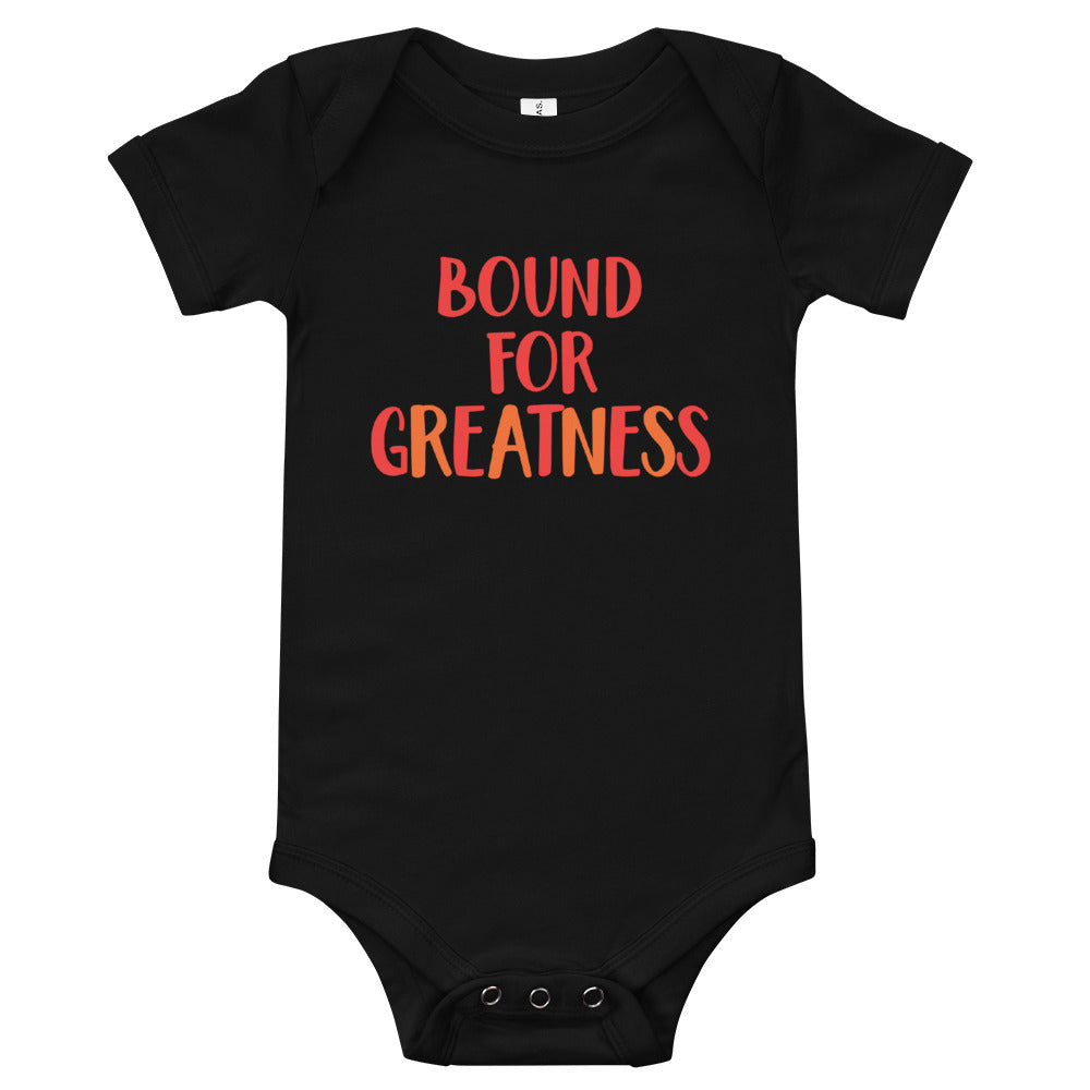Bound For Greatness (Warm) Baby Bodysuit