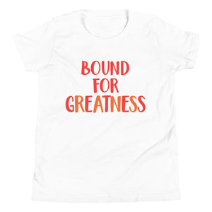 Bound For Greatness (Warm) Kids' Tee
