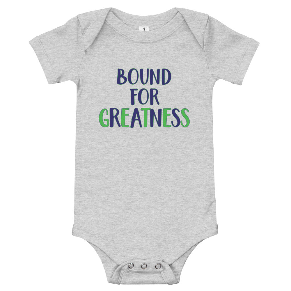 Bound For Greatness (Cool) Baby Bodysuit