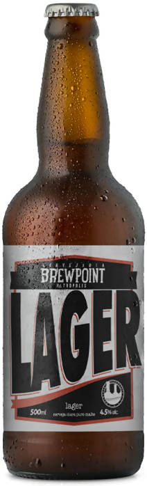 Brewpoint Lager (500ml)