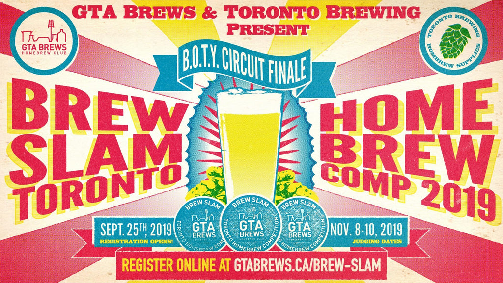 Brew Slam Homebrew Competition 2019