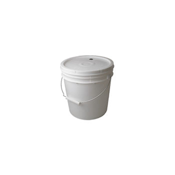 2 Gallon Food Grade Fermenting Bucket with Grommeted Lid and 3-Piece Airlock