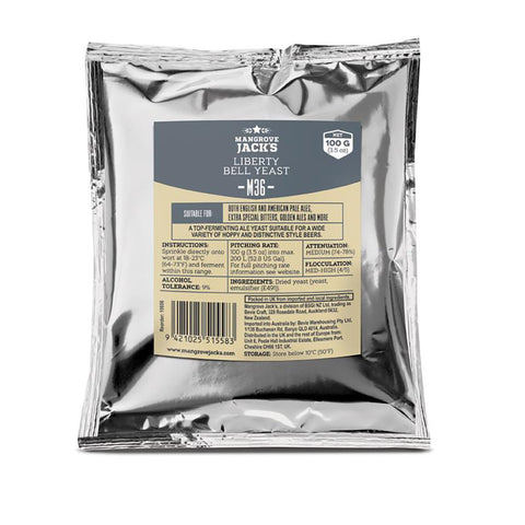 Mangrove Jack's Liberty Bell Ale Yeast - 100g