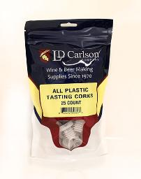 Reusable Plastic Corks - (25/Bag)