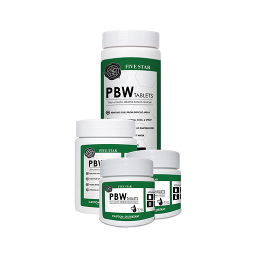 Five Star PBW - Powdered Brewery Wash Tablets - (2.5g)
