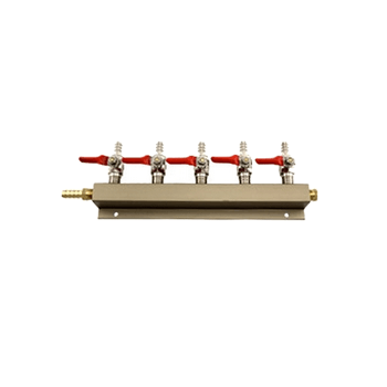 5 Way Gas Manifold Distributor - Toronto Brewing