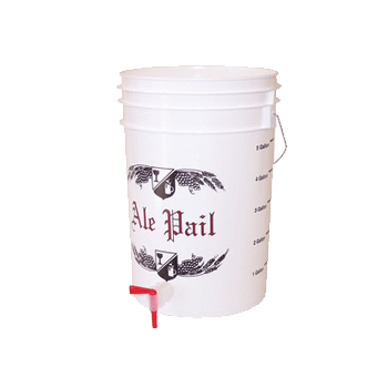 6.5 Gallon Bottling Bucket Kit with Solid Lid, Spigot and Bottle Filler with Tubing - Toronto Brewing