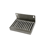 "6""x4""x1"" Wall Mount Stainless Steel Drip Tray - Toronto Brewing"