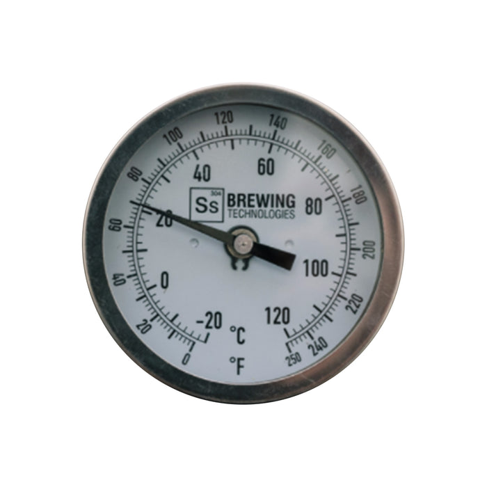 "Ss Brewtech Thermometer - 2.5 in. Stem 1/2"" NPT"
