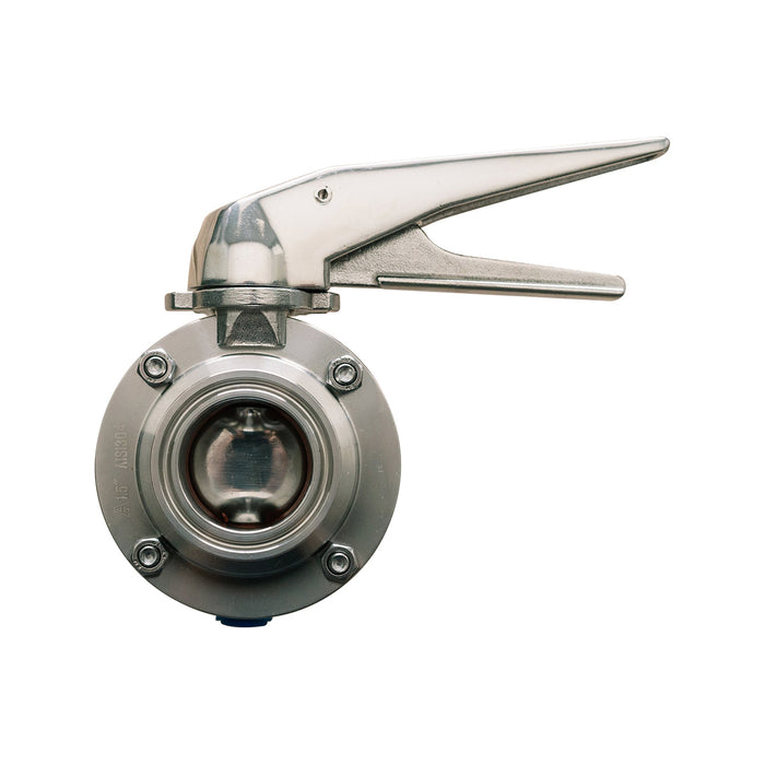 "SS Brewtech 1.5"" Tri-Clamp Butterfly Valve"