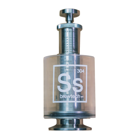 "SS Brewtech Sspunding Spunding Valve with Scale - 1.5"" Tri-Clamp"