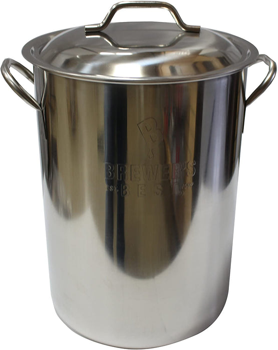 8 Gallon Graduated Stainless Steel Brew Kettle