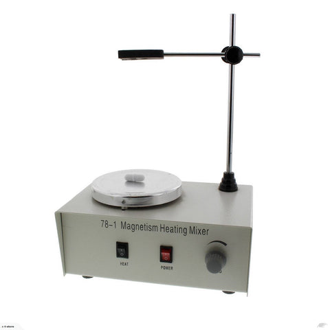 Magnetic Stir Plate with Stir Bar and Heated Plate