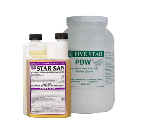 Star San (32oz) and PBW (8lb) Kit