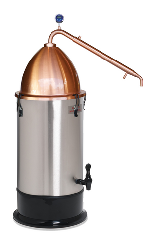 Still Spirits T-500 Essential Oil Extractor with Copper Alembic Dome Pot Still