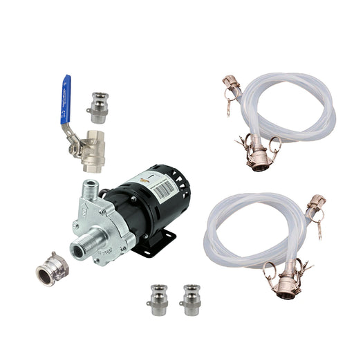 Inline Chugger X-Dry Pump Kit with Camlock Fittings