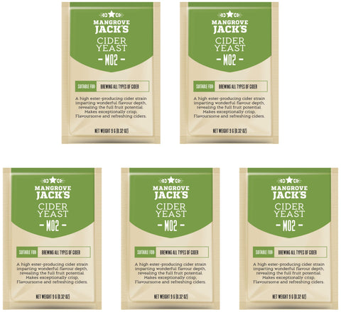 Mangrove Jack's Cider Yeast - 10g (Pack of 5)