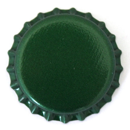 Oxygen Barrier Beer Bottle Caps (144 pack - Green)