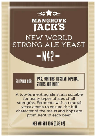 Mangrove Jack's New World Strong Ale Yeast - 10g
