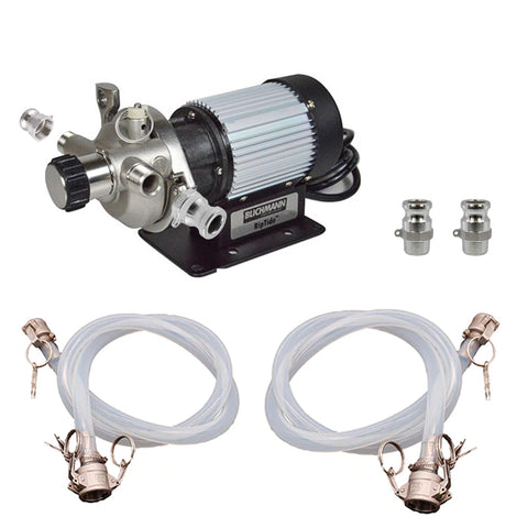 Inline Blichmann Engineering Riptide™ Pump Kit with Camlock Fittings