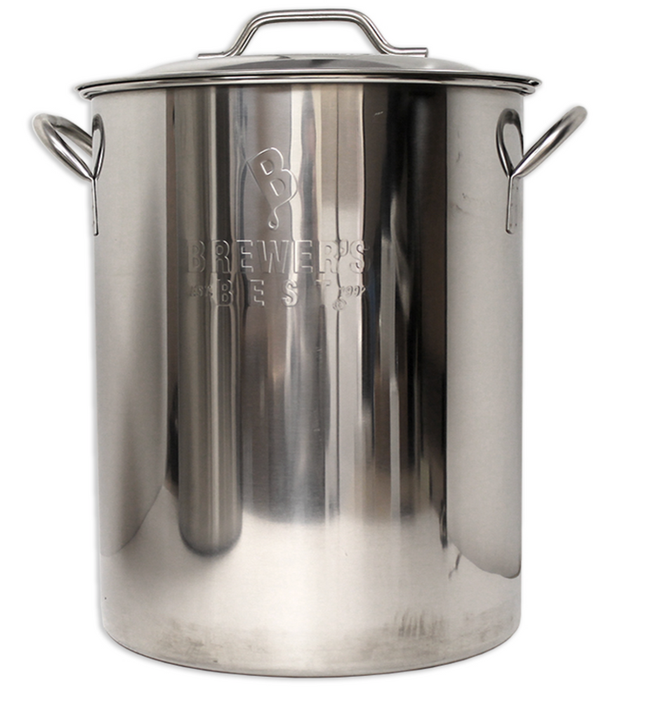 Brewer's Best Kettle - Stainless Steel 16 Gallon Brew Pot