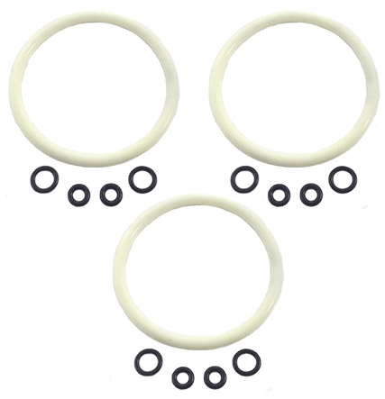 Ball Lock Keg O-Ring Replacement Set (Silicone Lid O-Ring) x 3 PACK