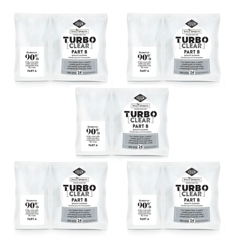 Still Spirits Turbo Clear (Pack of 5)
