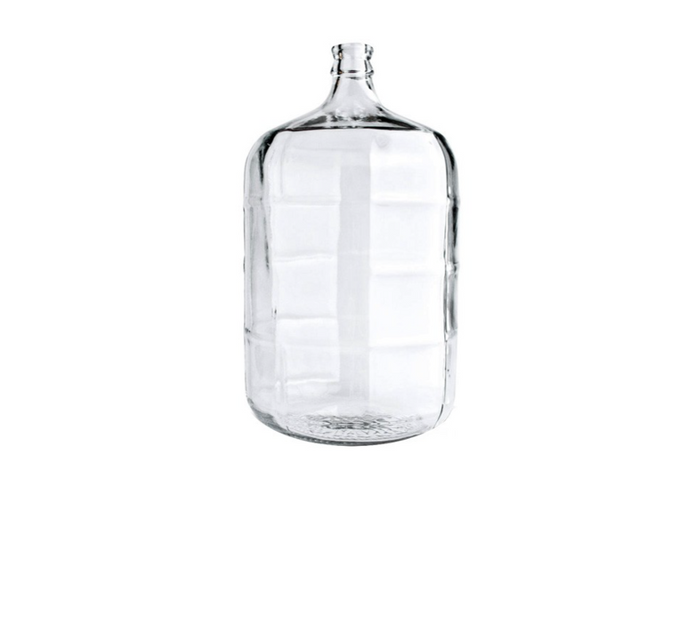 Carboy - 5 Gallon Glass Fermentor (Made in Italy)