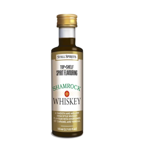 Still Spirits Top Shelf Shamrock (Irish) Whiskey Essence (50 ml)