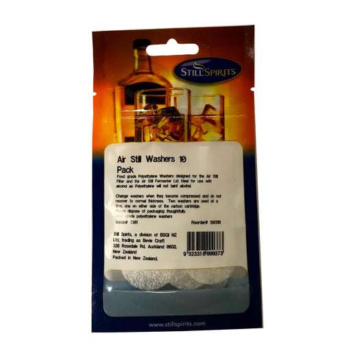 Air Still Carbon Filter Washer (10 pack) - Toronto Brewing