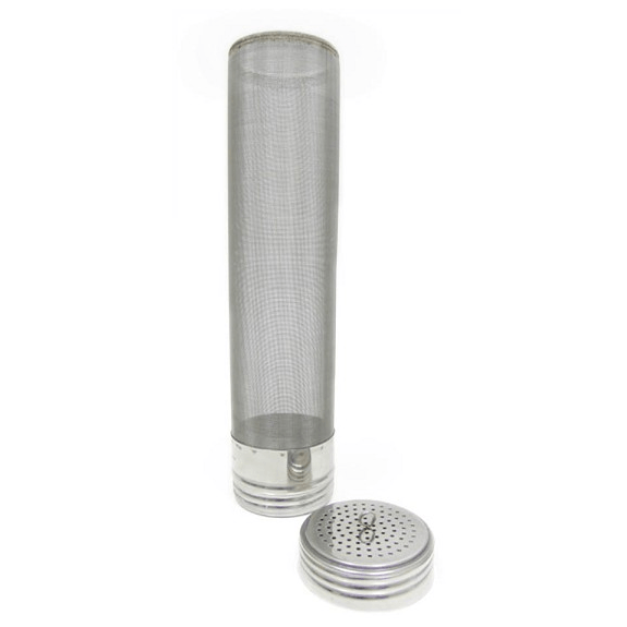 Ball Lock Keg Hopping Canister - 400 Micron Hop Filter w/Removable Lid - Toronto Brewing