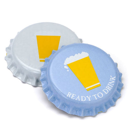 Oxygen Barrier Beer Bottle Caps (144 pack - Cold Activated)