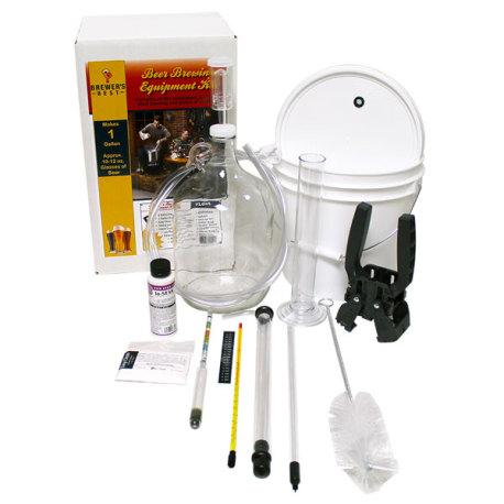 Brewer's Best 1 Gallon/4 Litre Homebrew Beer Brewing Starter Equipment Kit - Toronto Brewing