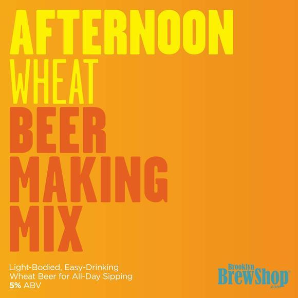 Brooklyn Brewshop Afternoon Wheat Ingredient Mix (1 Gallon/10 Beers) - Toronto Brewing