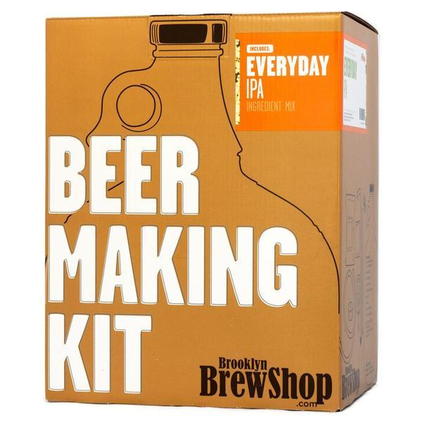 Brooklyn Brewshop Beer Making Equipment Kit - Everyday IPA (1 Gallon/10 Beers) - Toronto Brewing
