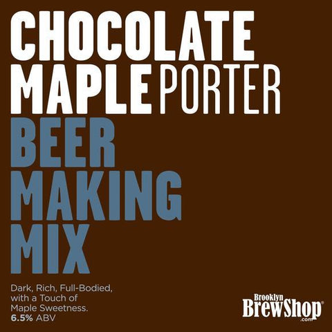 Brooklyn Brewshop Chocolate Maple Porter Ingredient Mix (1 Gallon/10 Beers) - Toronto Brewing