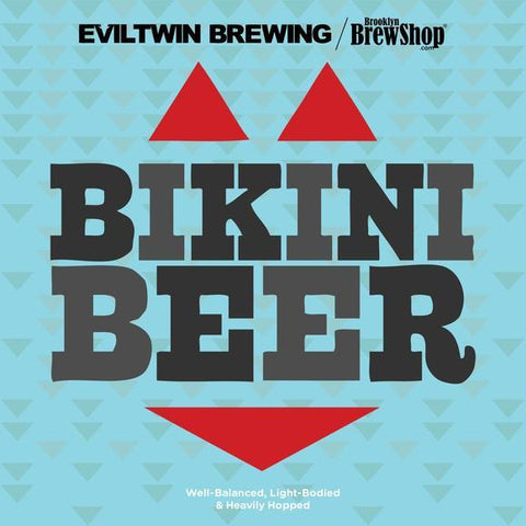 Brooklyn Brewshop Evil Twin Bikini Beer Ingredient Mix (1 Gallon/10 Beers) - Toronto Brewing