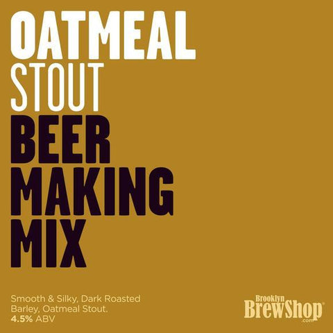 Brooklyn Brewshop Oatmeal Stout Ingredient Mix (1 Gallon/10 Beers) - Toronto Brewing