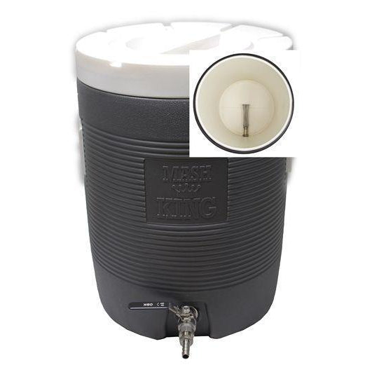 Converted 11.7 Gal Mash King Cooler Mash Tun (SS Bazooka Screen & Ball Valve) - Toronto Brewing