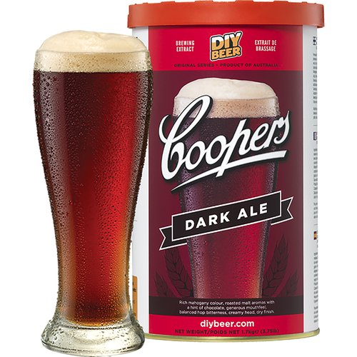 Coopers Beer Kit Dark Ale (6 Gallon/23 Litre)