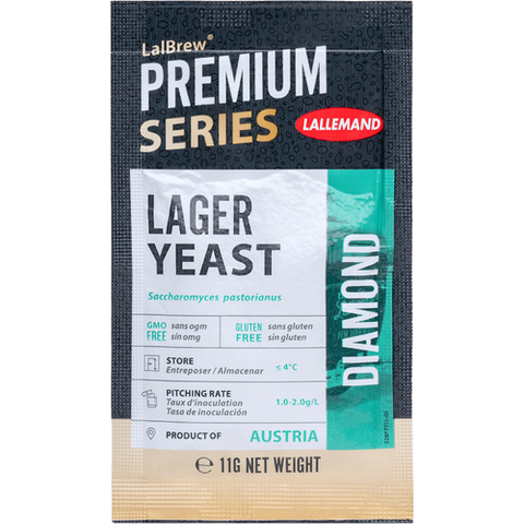 LalBrew® Diamond Lager Yeast - Lallemand (11 g)