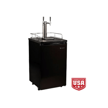 EdgeStar Kegerator Dual Tap Tower Beer Keg Fridge - Toronto Brewing