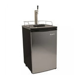 EdgeStar Kegerator Single Tap Tower Beer Fridge (Stainless Door) - Toronto Brewing
