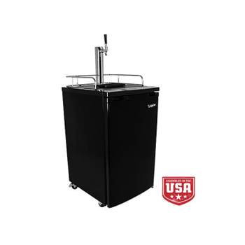EdgeStar Kegerator Single Tap Tower Beer Fridge - Toronto Brewing