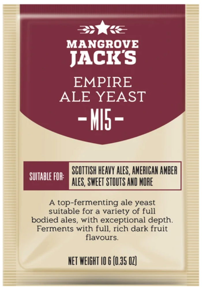 Mangrove Jack's Empire Ale Yeast - M15 (10g)