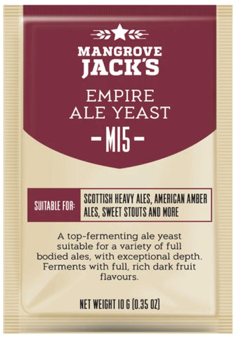 Mangrove Jack's Empire Ale Yeast - 10g