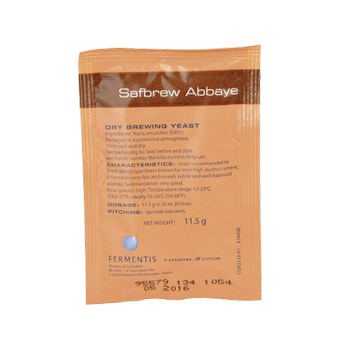 Fermentis Safbrew Belgian Abbaye Ale (BE-256) Dry Yeast (11.5 g) - Toronto Brewing