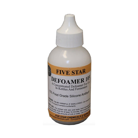 Five Star Defoamer 105 (2 oz) - Toronto Brewing