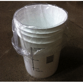 Food-Grade Plastic Pail Liner For Bucket - Toronto Brewing