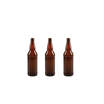 Glass Beer Bottles (Brown - Case of 12 660 ml X 3), Emily Capper and Gold Crown Caps (144)